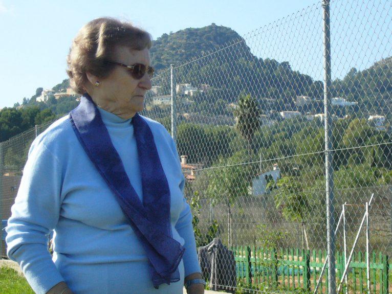 Teresa Santos en una imagen reciente