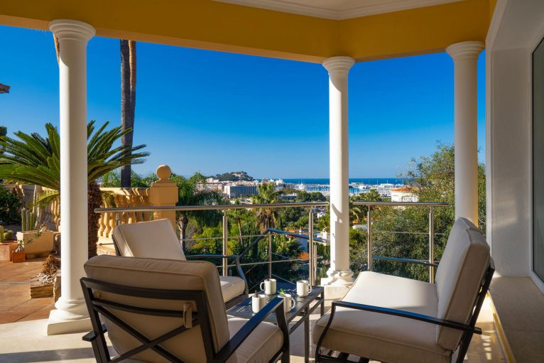 Terrassa amb vistes precioses a la mar ia Dénia - Aguila Rent a Vila
