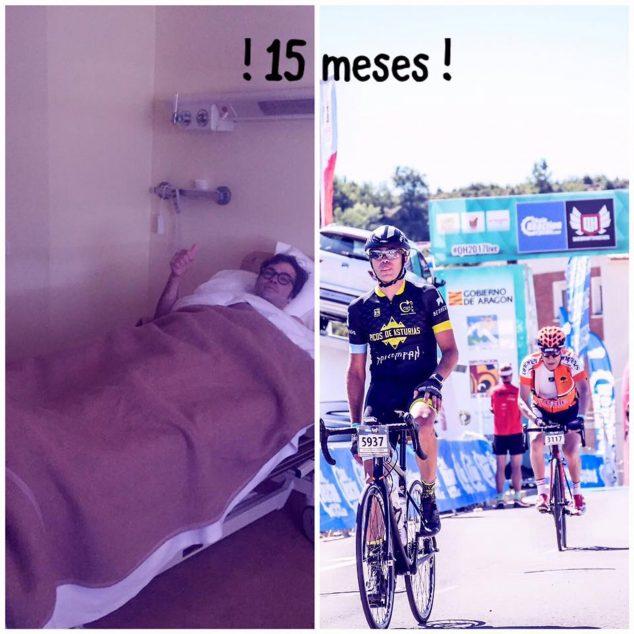 Imagen: Tico Romany pasó en 15 meses a mejorar increíblemente su condición física