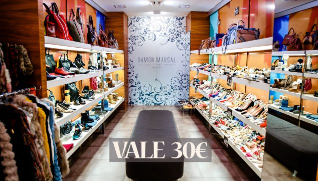 Imagen: Vale de 30 euros para gastar en calzado de nueva temporada - Calzados Ramón Marsal