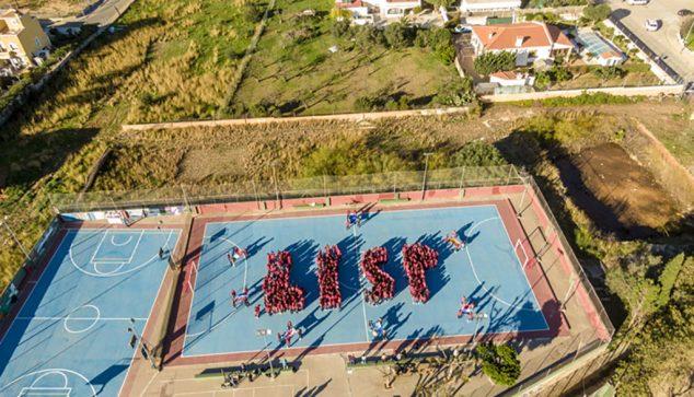 Imagen: Vista aérea del patio de Paidos