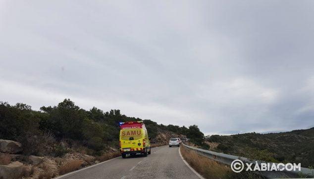 Imagen: Accidente carretera de Dénia-Xàbia