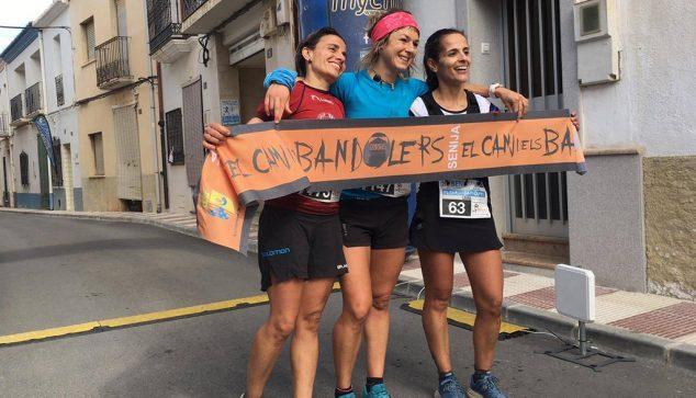Image: Aida Pérez with Antonia Valero and Laura Salom