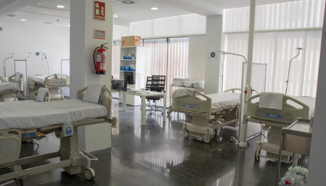 Bild: Dénia Emergency Expansion für Coronavirus-Patienten