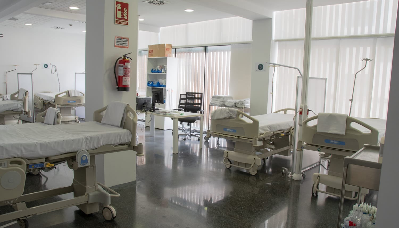 Denia Espansione di emergenza per pazienti con coronavirus