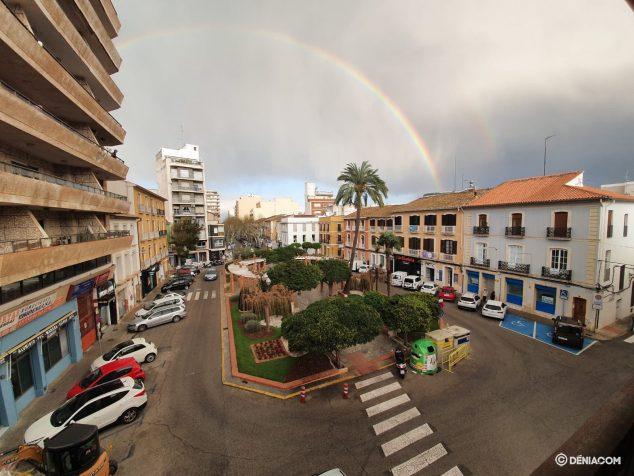 Imagen: Arcoíris en la Glorieta