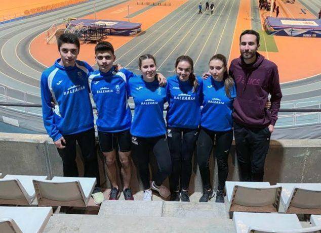 Bild: Athleten des CA Baleària Diànium in Valencia