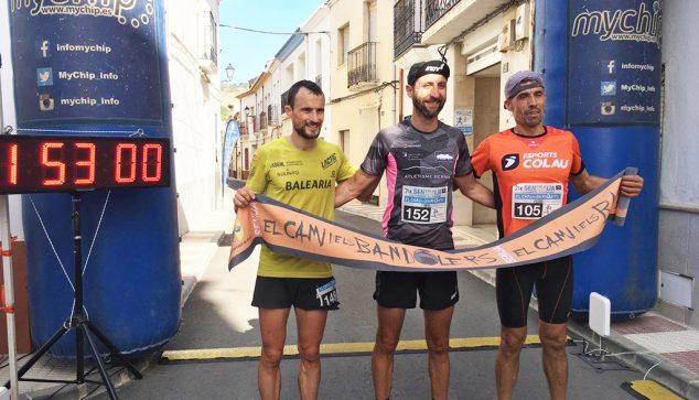 Image: Ben Mounsey, along with Pol Rodríguez and Pedro Martínez
