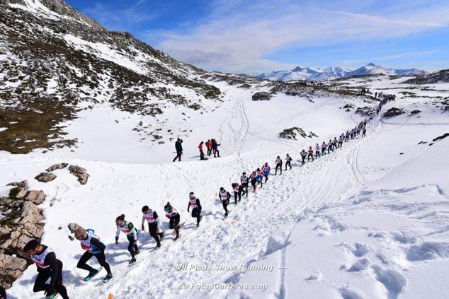 Image: Spanish Snowshoe Championship
