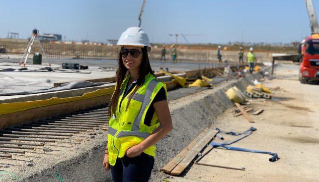 Imagen: Carmen Montes, ingeniera dianense residiendo en Bucares