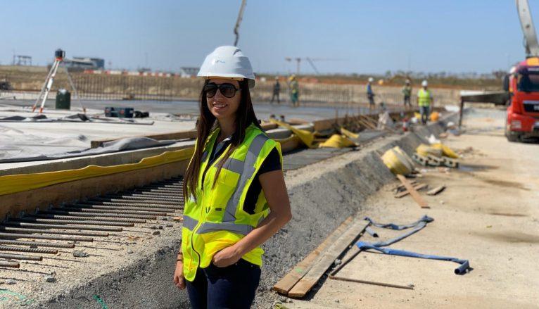Carmen Montes, enginyera deniera residint a Bucares