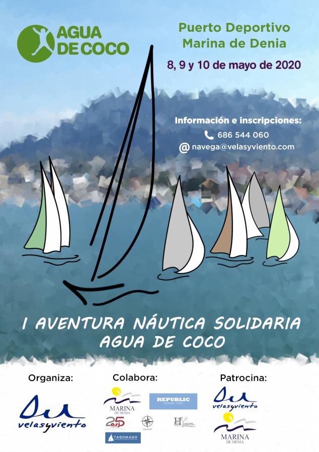 Imagen: Cartel Aventura Náutica Solidaria