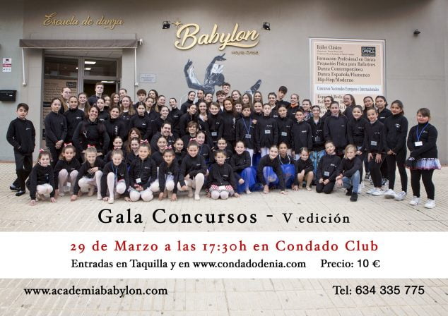 Image: Poster of the gala contests to be held on March 29, 2020 - Babylon School of Dance