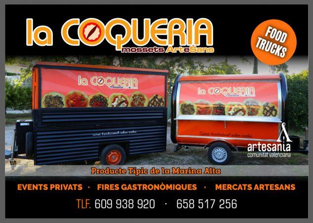 Image: La Coquería foodtruck poster