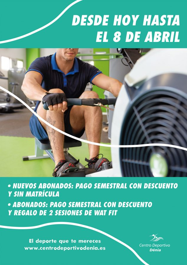 Image: New promotion poster for Dénia Sports Center