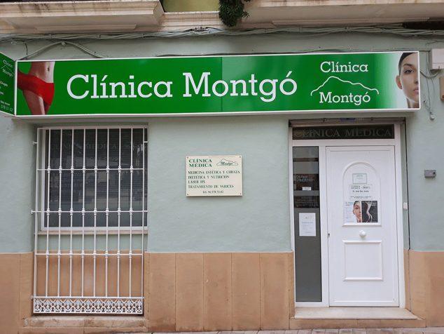 Imagen: Fachada de Clínica Médica Montgó