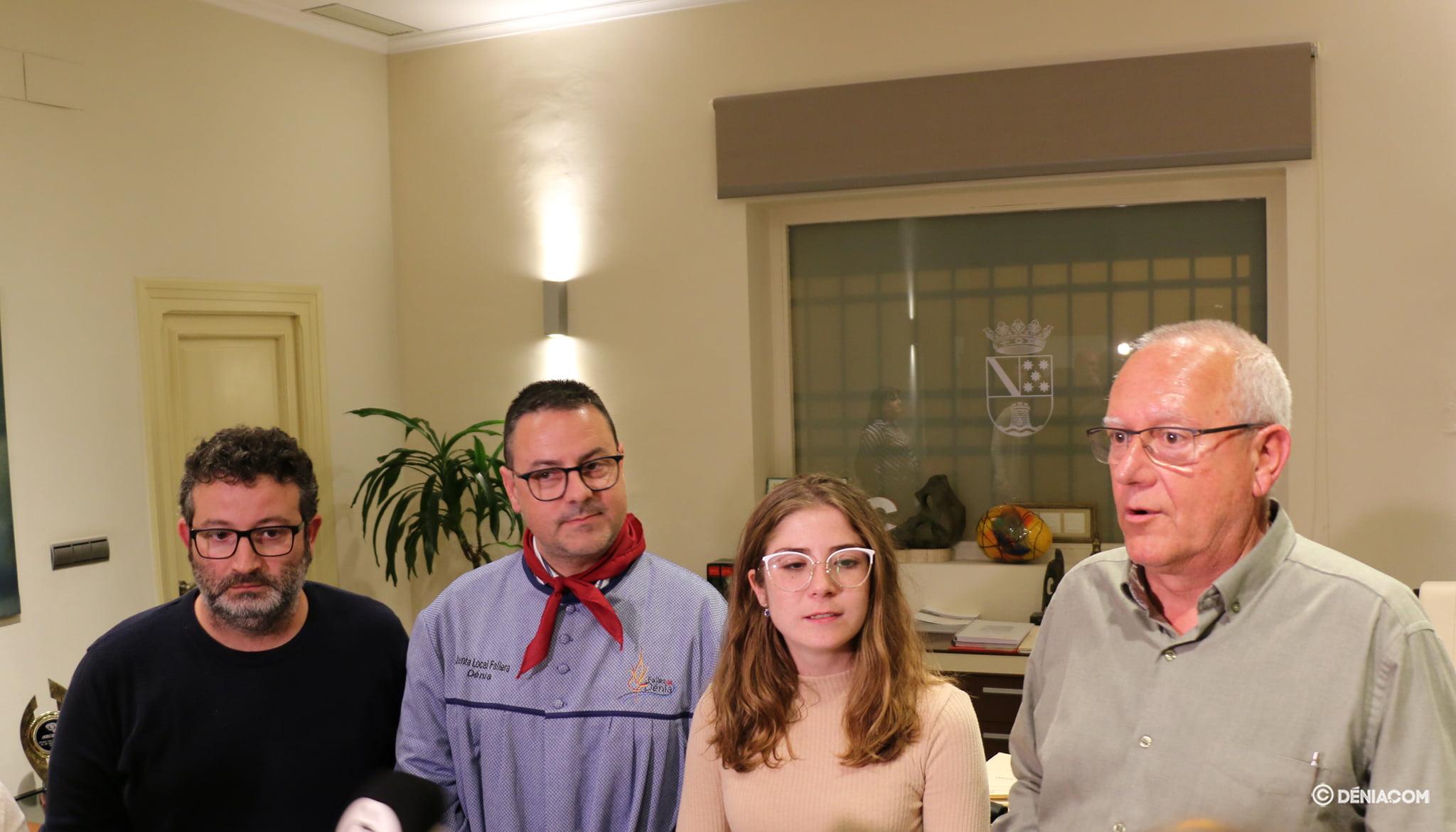 Compareixença davant els mitjans després de la reunió