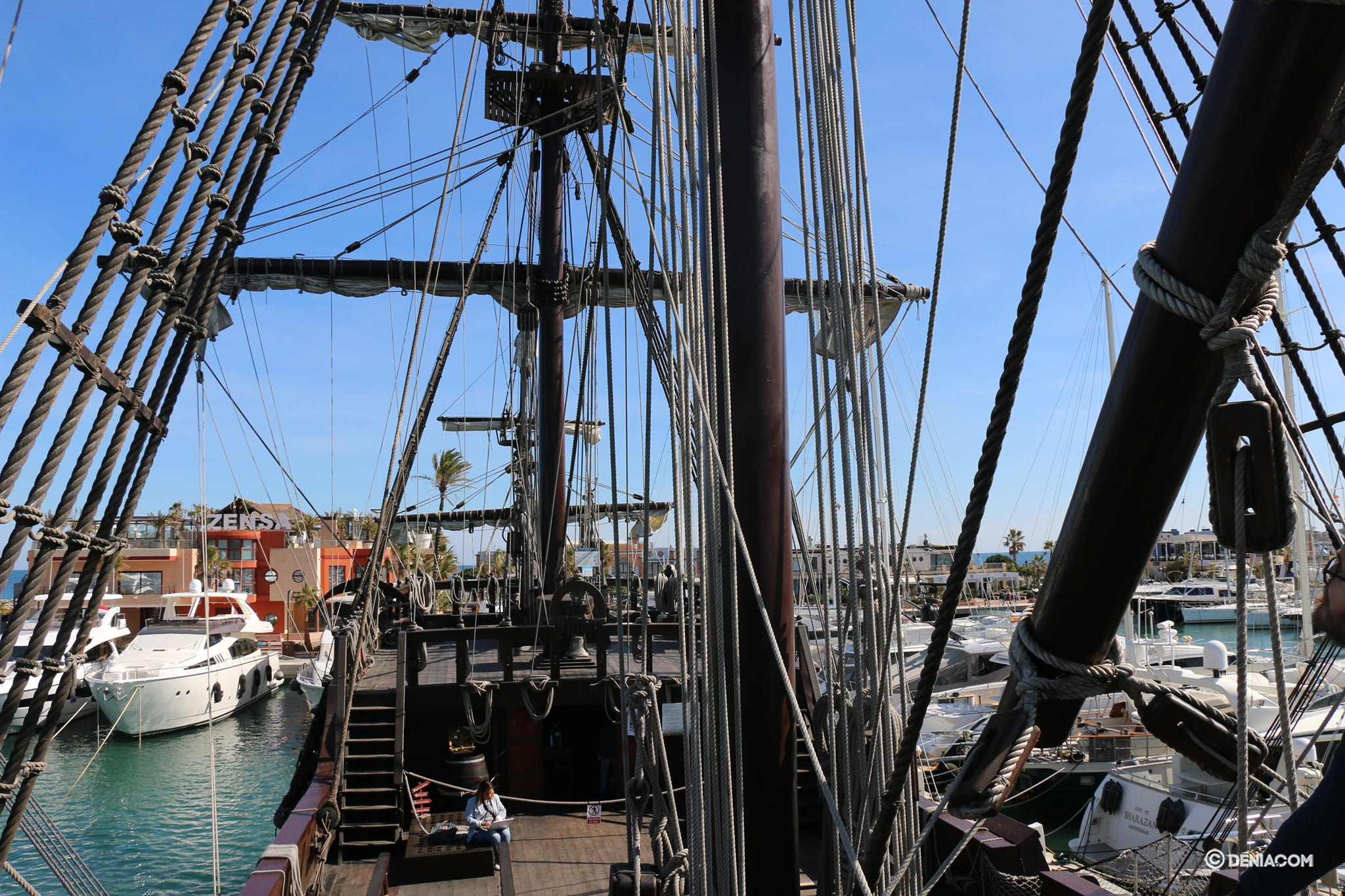 Inside the Galleon Andalusia