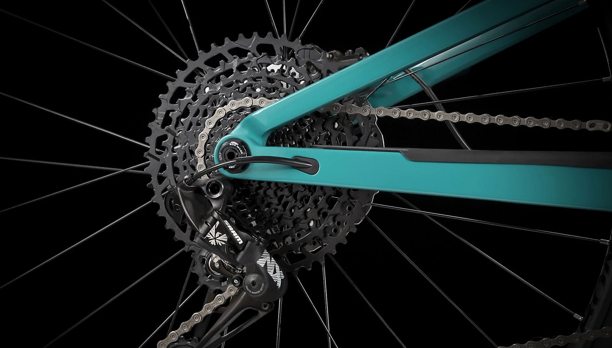 Detail image of the Top Fuel 9.7 carbon bike - Extrem Cicles
