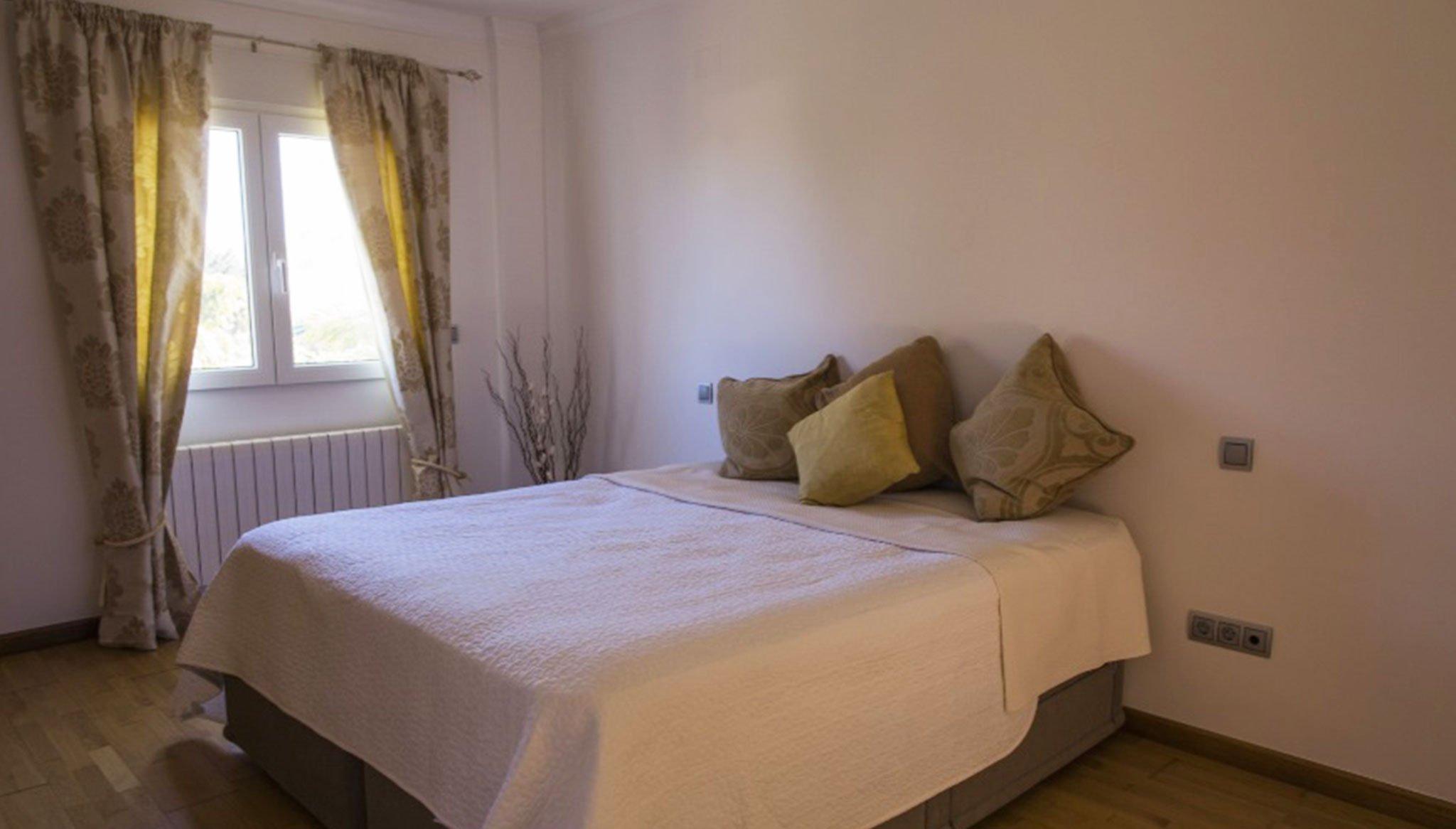 Dormitorio doble en un chalet de vacaciones en Dénia – Deniasol