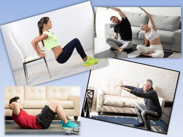 Image: Exercise at home with REMA (Rehabilitation Marina Alta)