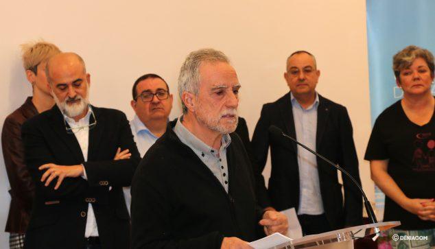 Imagen: El profesor Juan Luis López