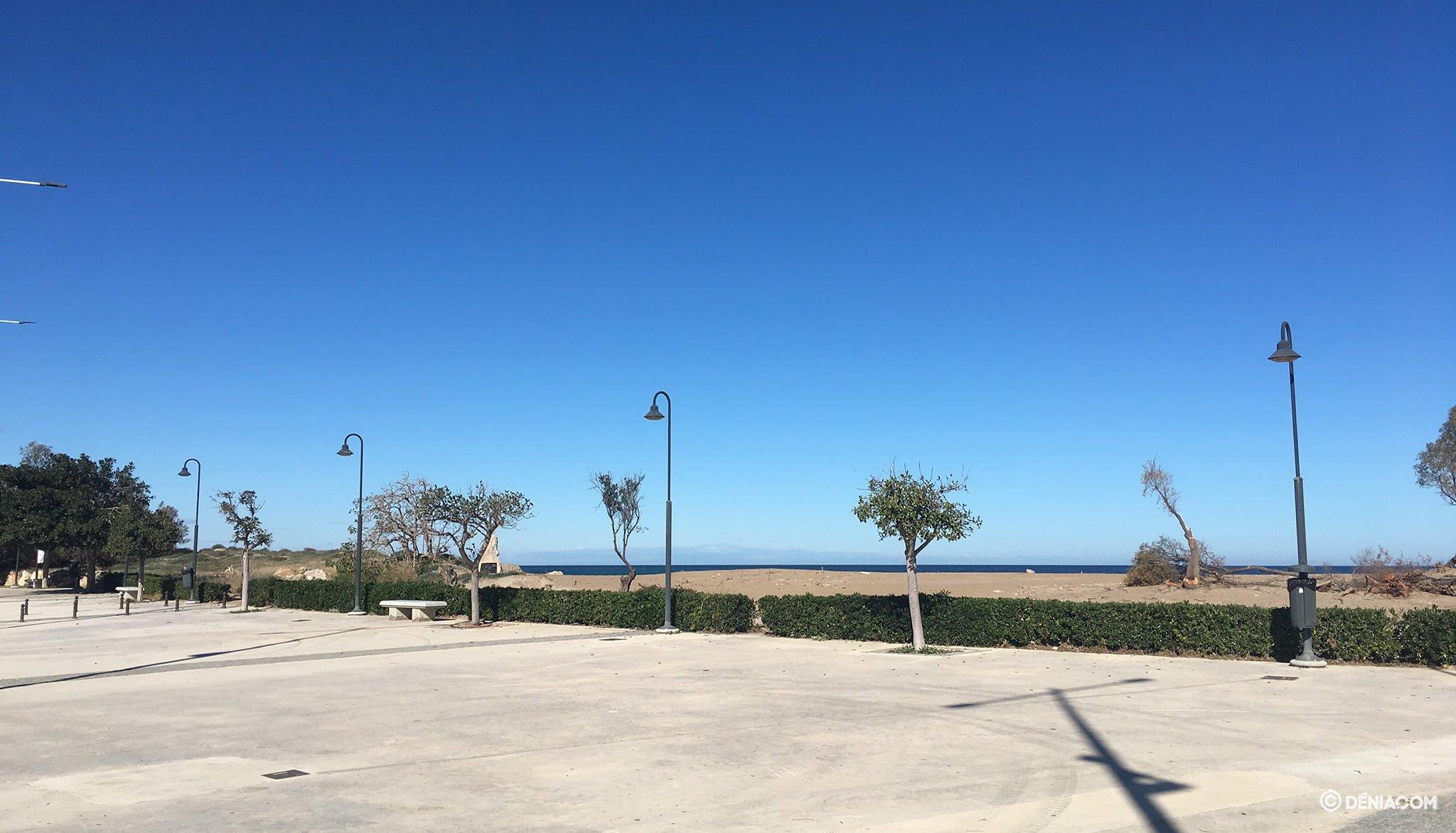 Entrada de la platja
