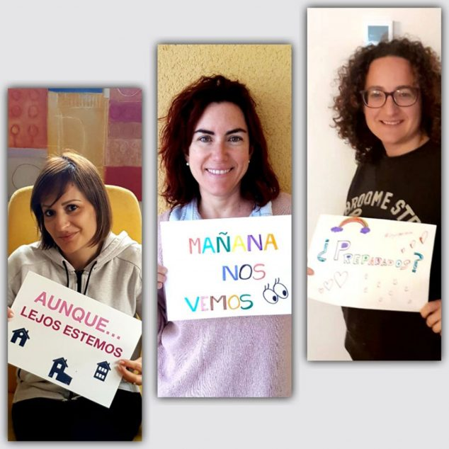 Image: CEIP Montgó CyL (Communication and Language) classroom team