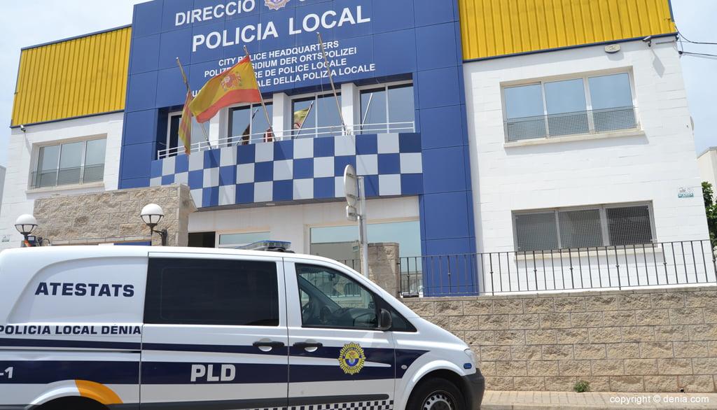 Façana policia local