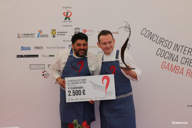 Image: Winners of the IX Red Shrimp Contest