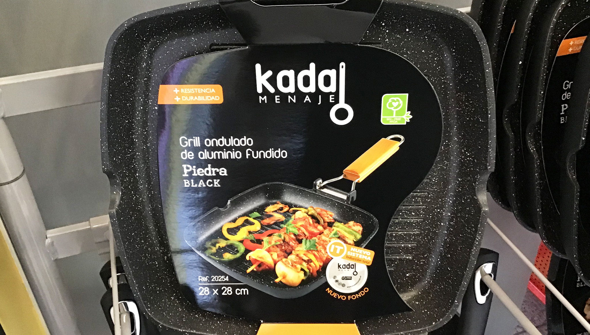 Grill ondulado Kadal Menaje – Coloma 2 Ferreteros