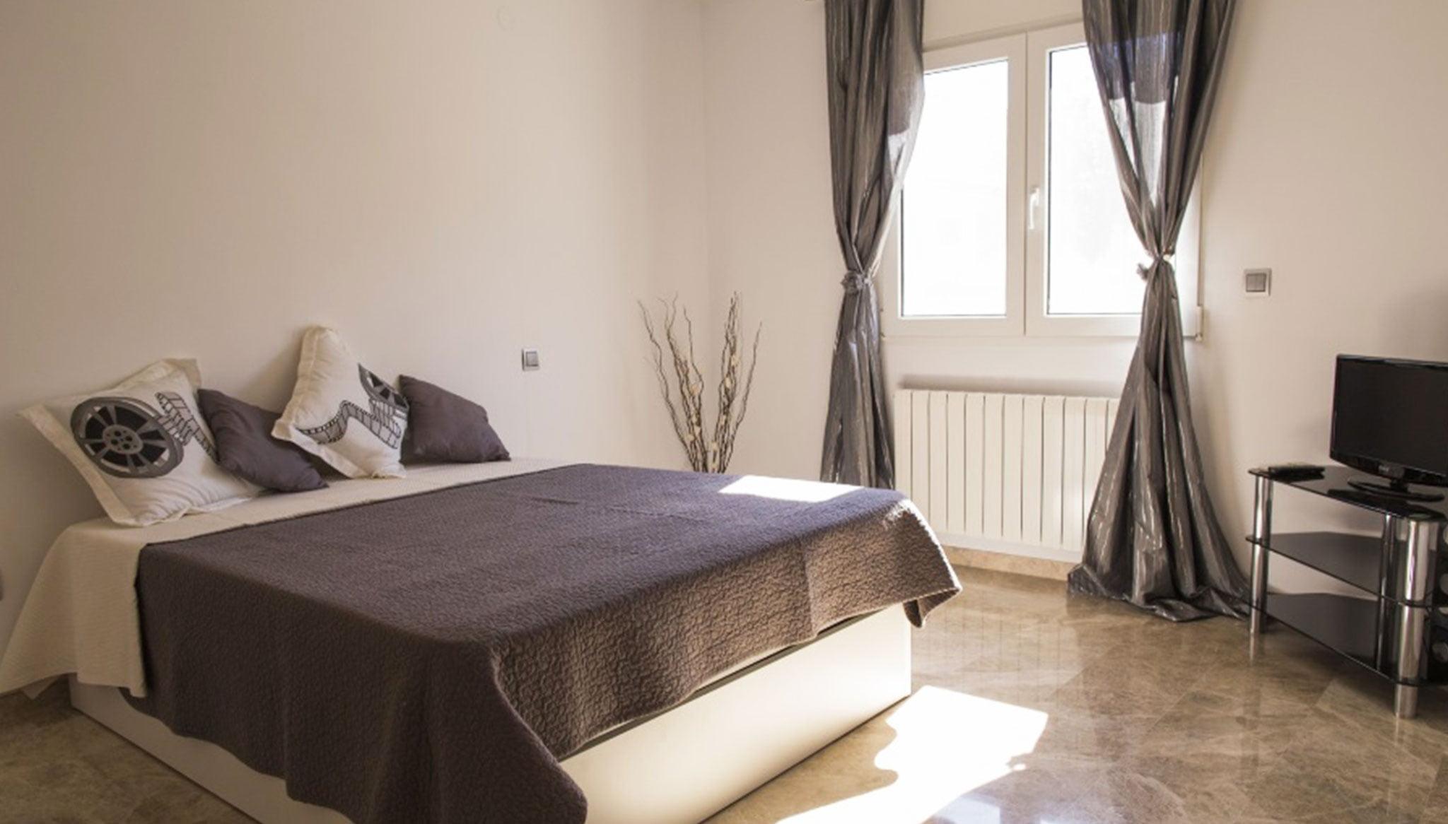 Habitación doble en un chalet de vacaciones en Dénia – Deniasol