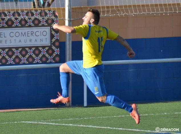 Imatge: Jaume celebrant el seu gol