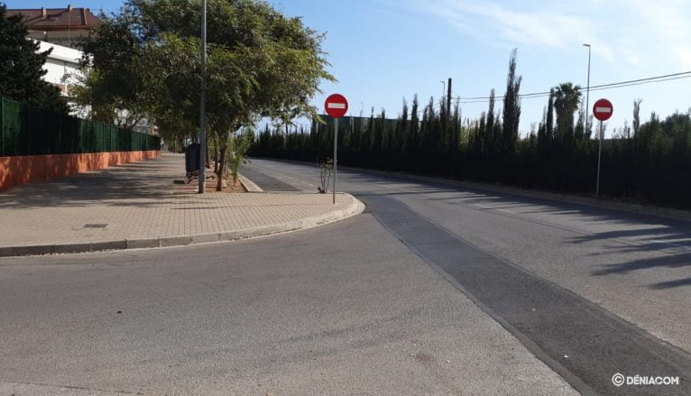 The deserted streets of Dénia 9