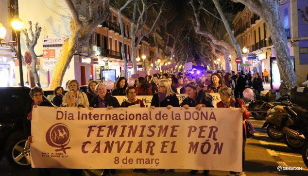 Image: The demonstration runs through Marqués de Campo
