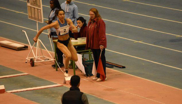 Image: Lili Riva in the triple jump