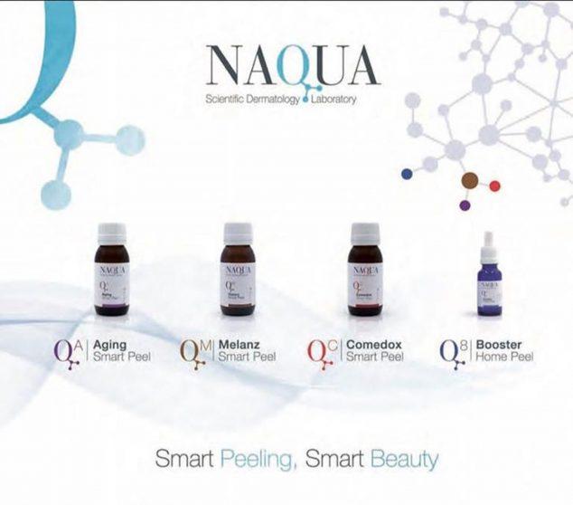 Image: Naqua lip peeling line - Clinica Doctora Flores de Apodaca
