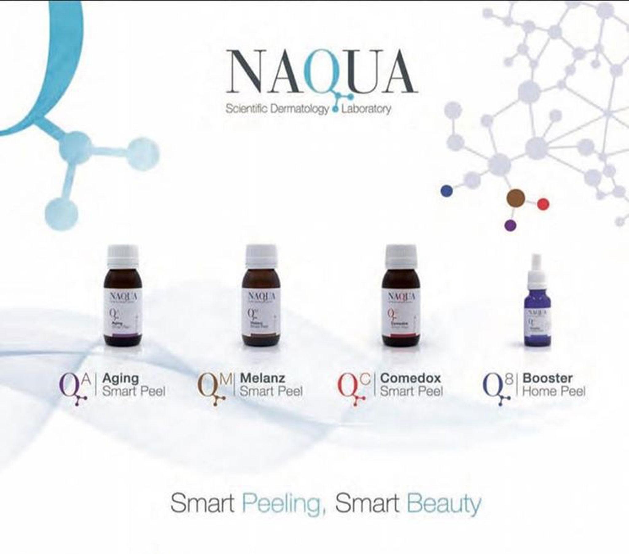 Línea de peeling labial de Naqua – Clínica Doctora Flores de Apodaca