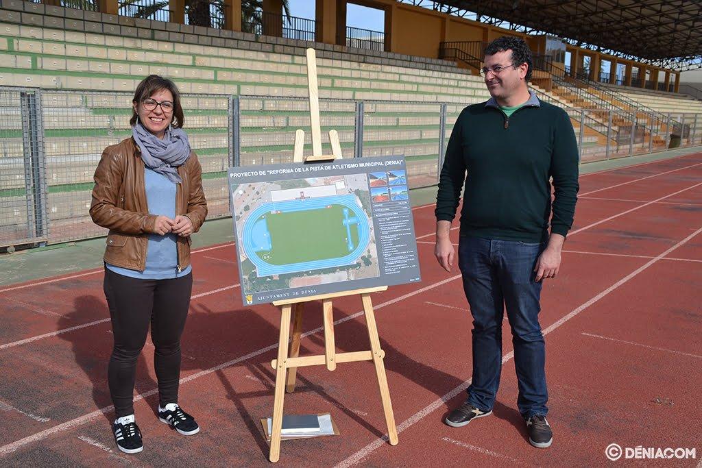 Mª José Ripoll and Rául García de la Reina