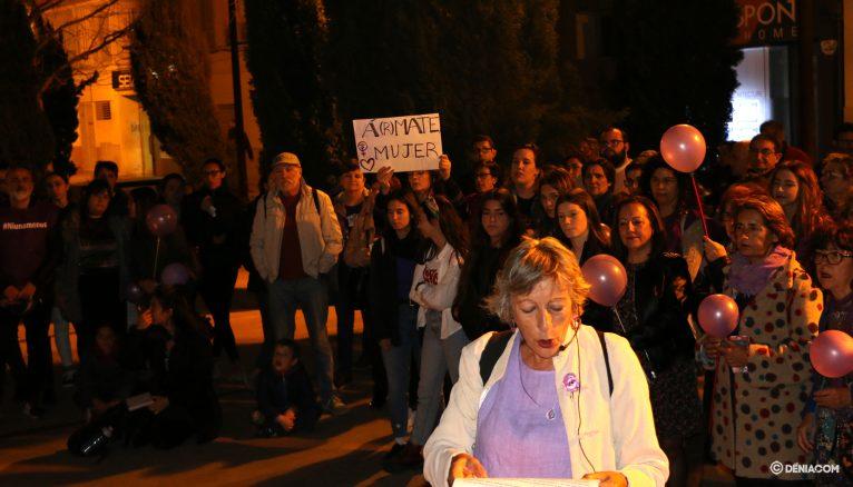 Demonstration of International Women's Day
