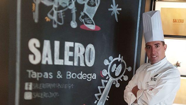 Imagen: Marco Antonio Blanquer en el Restaurante Salero, cocina española en Dubái