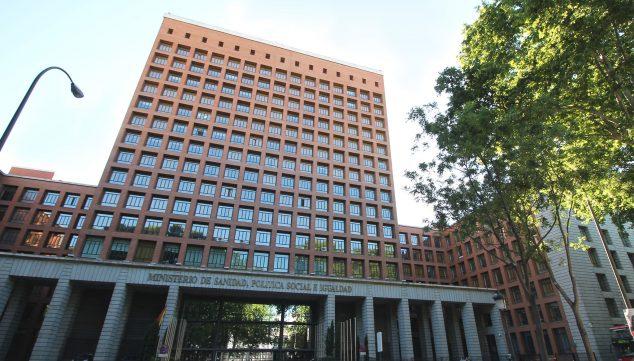 Bild: Fassade des Gesundheitsministeriums