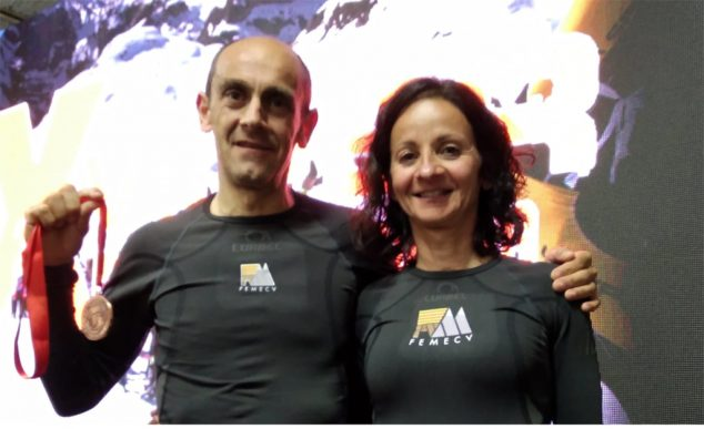 Image: Nasio Cardona and Laurence Rastell in the Picos de Europa
