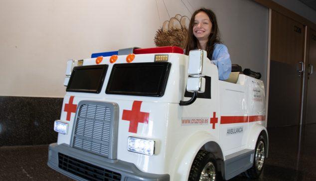 Image: New mini electric ambulance