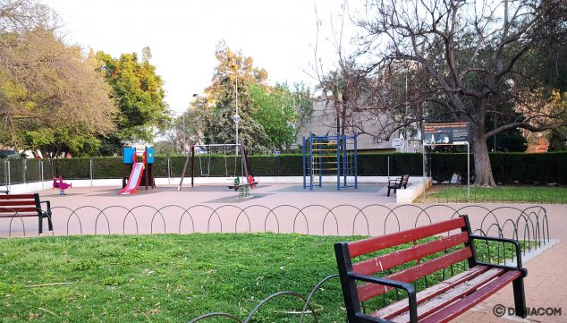 Image: Unusual image of an empty park in Dénia