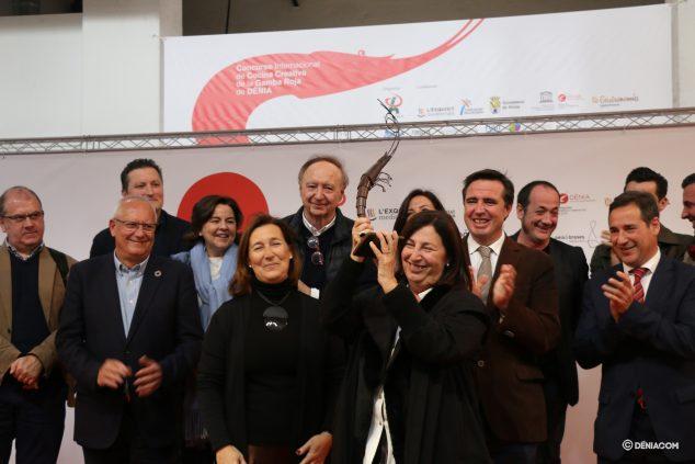 Image: Pepa Font receives the honorary award