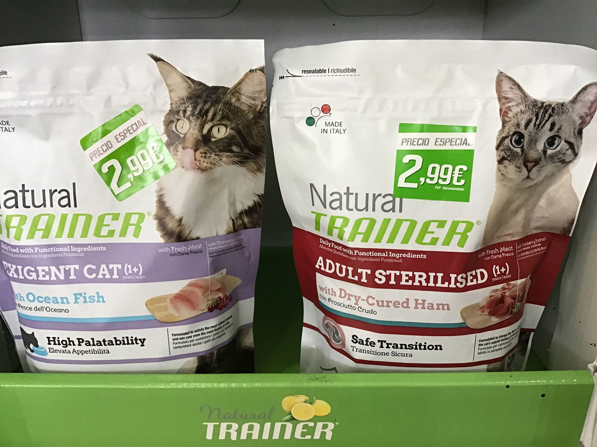 Natural feed Natural Trainer for cats in Dénia - Santi Mas-Pet services