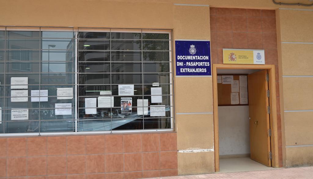 Policia Nacional a Dénia