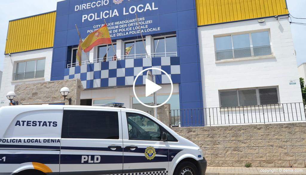 Portada policía local