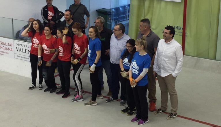 Presentación equipo femenino raspall